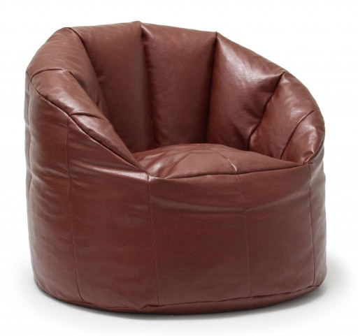 Big Joe Milano Crimson Vegan Leather Chair