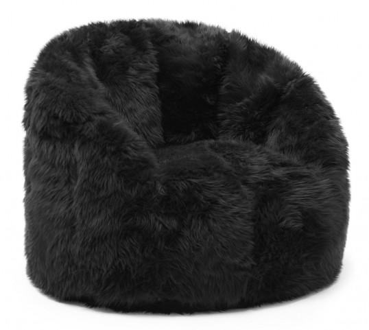 Big Joe Milano Black Shag Chair