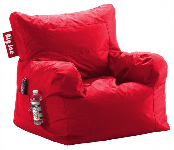 Big Joe Dorm Flaming Red SmartMax Chair
