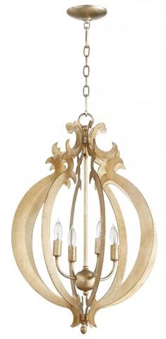 Danelle Silver 4 Light Pendant