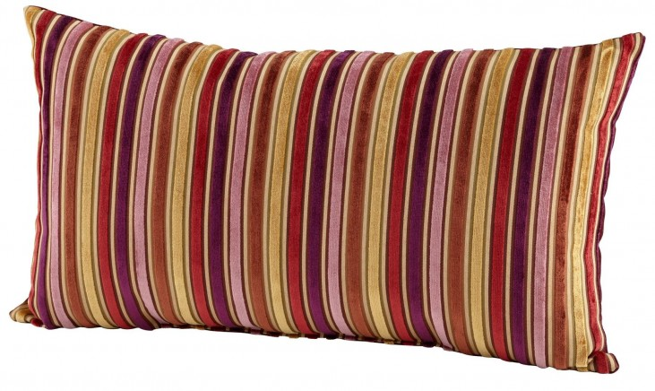 Vibrant Stripe Pillow