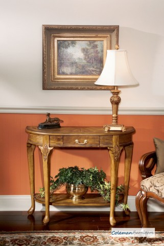 Vintage Oak 0653001 Console Table