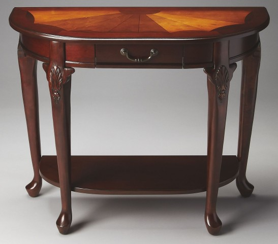 Kimball Plantation Cherry Console Table