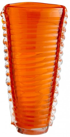Dollie Orange Small Vase