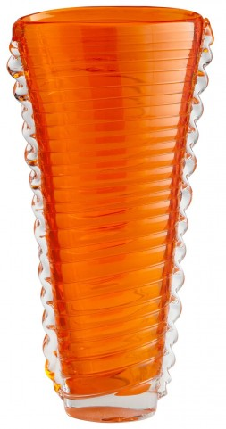Dollie Orange Medium Vase