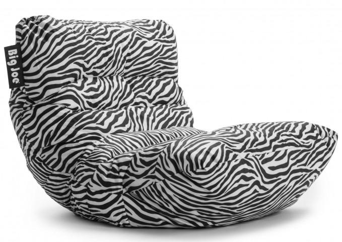 Big Joe Roma Zebra SmartMax Bean Bag Chair