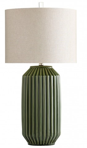 Allison Green Table Lamp