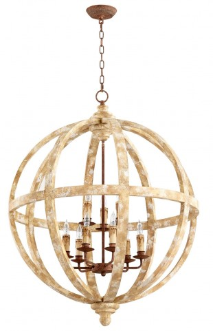 Landon Nine Light Pendant