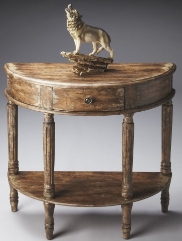 Artists' Originals River Walk Demilune Console Table