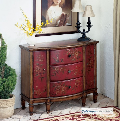 Red 0674065 Console Cabinet