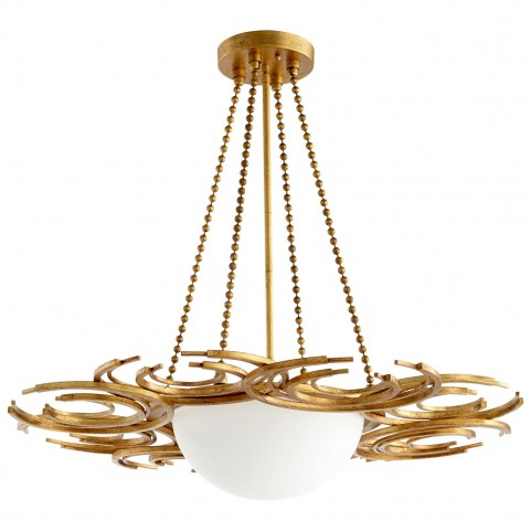 Vivian Golden 3 Light Pendant