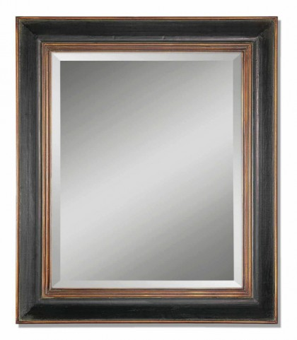 Fabiano Black Wood Mirror
