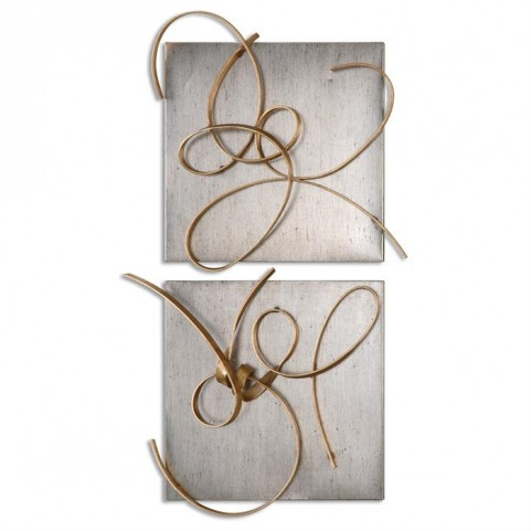 Harmony Metal Wall Art Set of 2