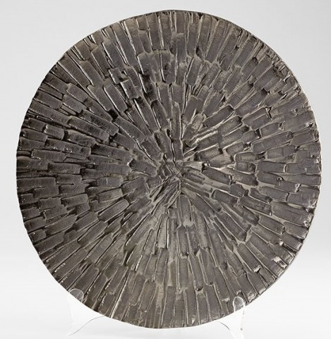 Flagstone Textured Bronze Large Tray