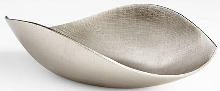 Thea Textured Nickel Medium Container