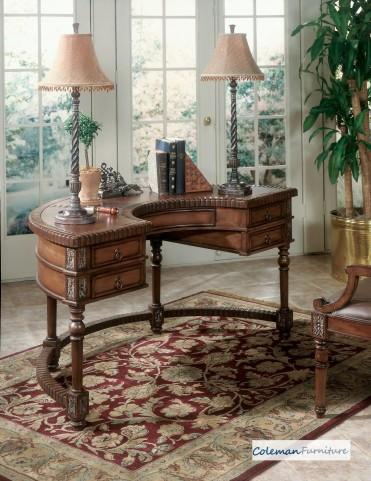 Connoisseur's 0714090 Demilune Desk