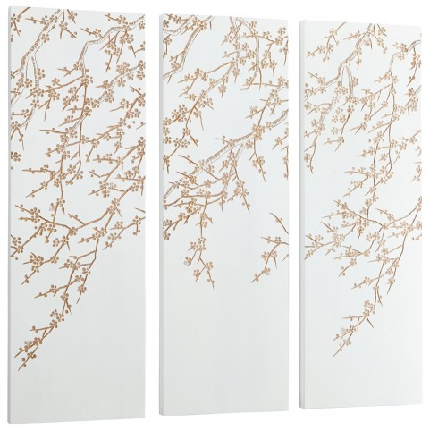 Cherry Blossom 3 Piece Wall Art
