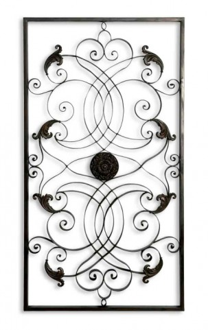 Effie Rectangle Metal Wall Art