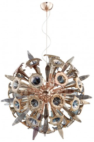 Remy Copper 16 Light Pendant