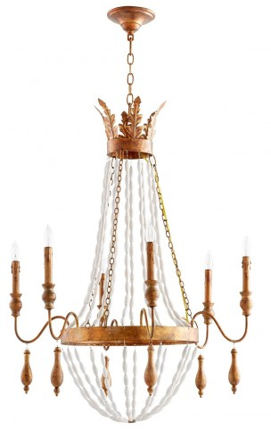 Alexandra 6 Light Candle Holder