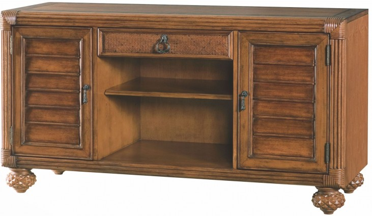 Grand Isle Amber Entertainment Console