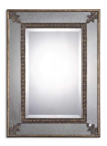Michelina Antique Gold Mirror