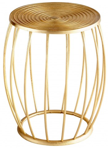 Zodiac Gold Stool
