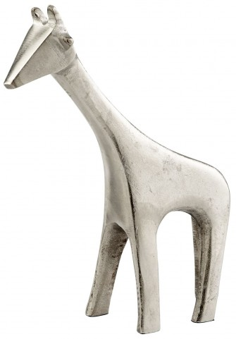 Small Raw Nickel Neck Sculpture
