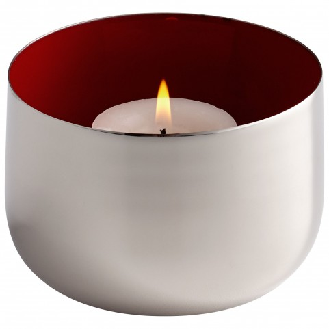 Nickel Cup O' Candle
