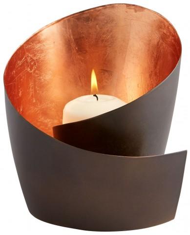 Mars Copper Candleholder