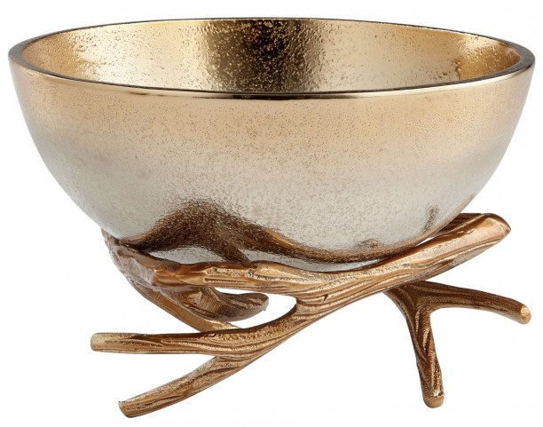 Medium Antler Anchored Bowl