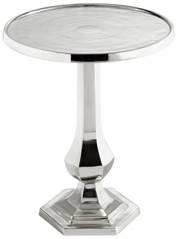Old Sport Nickel Side Table