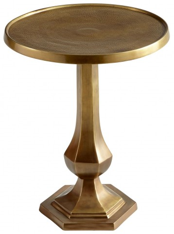 Old Sport Brushed Brass Side Table