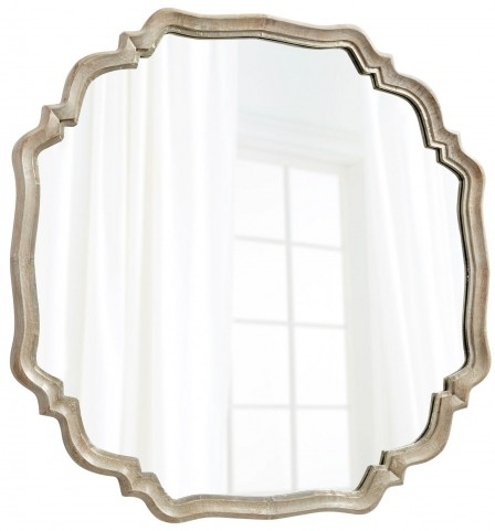 Medallion Silver Oxide Mirror