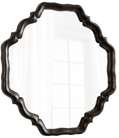 Outline Antique Brown Mirror