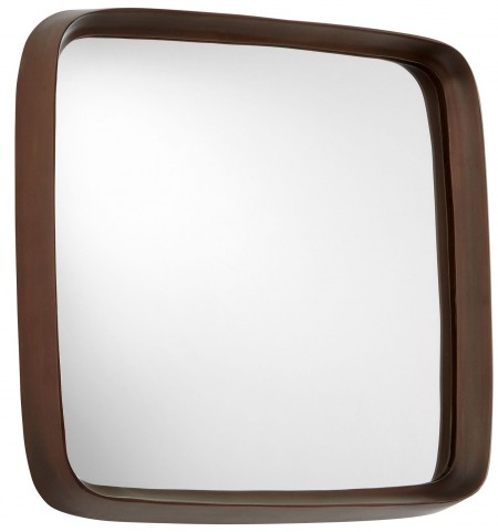 Square'd Antique Copper Mirror