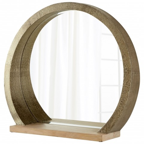 Large Rising Radius Mirror