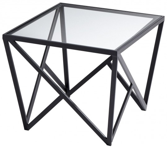 Dimitri Black Side Table