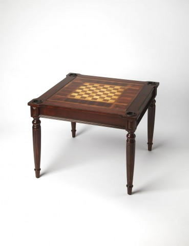 Masterpiece Vincent Plantation Cherry Multi-Game Card Table