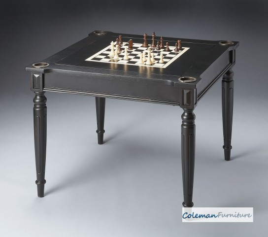 Masterpiece Black Licorice Multi-Game Card Table