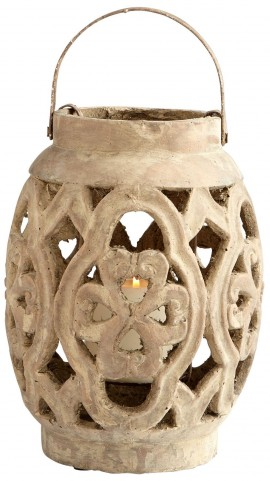 Small Filigree Flame Candleholder