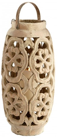 Large Filigree Flame Candleholder