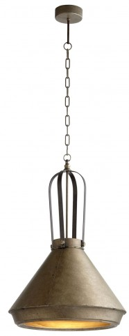 Grayling Canyon Bronze Pendant
