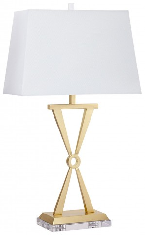 Brass Lighting CFL Table Lamp