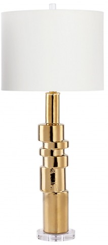 Lighting Gold CFL Table Lamp