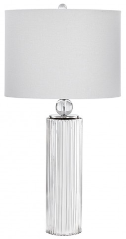 Nickel Lighting CFL Table Lamp