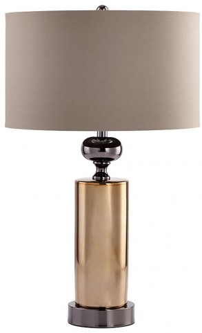 Noma Gunmetal Table Lamp