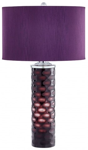 Zuma Purple Table Lamp