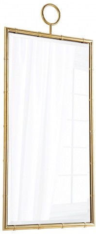 Golden Brass Image Mirror