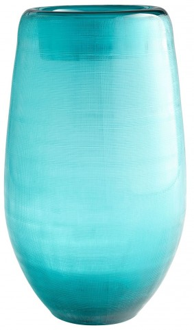 Large Turquoise On The Water Vase